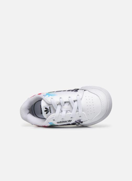 Sneaker adidas originals Continental 80 El I weiß ansicht von links