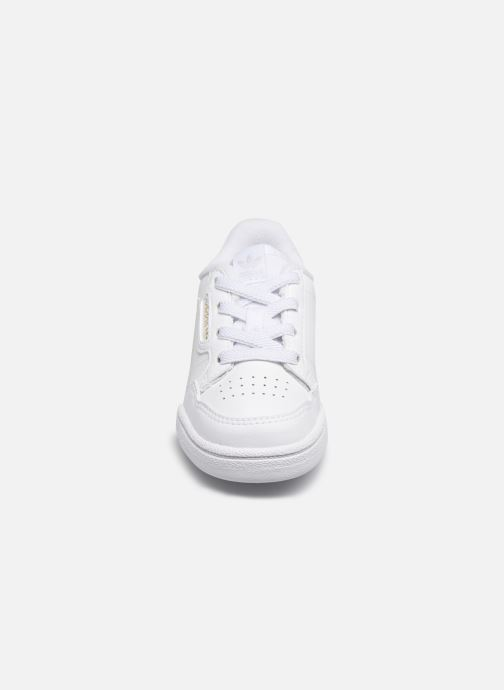 Sneakers adidas originals Continental 80 El I Bianco modello indossato