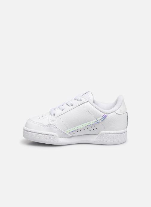 Baskets adidas originals Continental 80 El I Blanc vue face