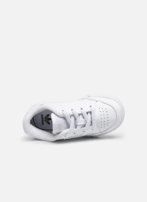 Baskets adidas originals Continental 80 El I Blanc vue gauche