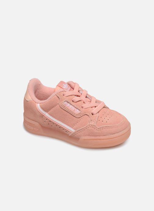 Sneakers adidas originals Continental 80 El I Pink detaljeret billede af skoene