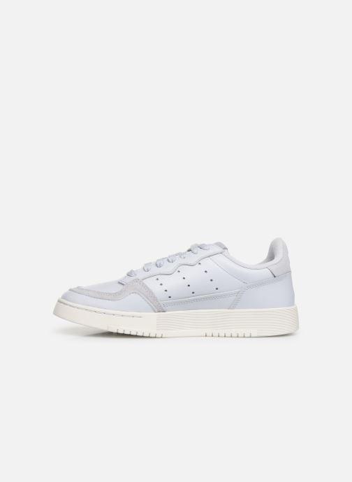 Sneakers adidas originals Supercourt J Blauw voorkant