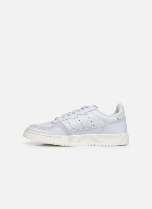 Sneakers adidas originals Supercourt J Azzurro immagine frontale