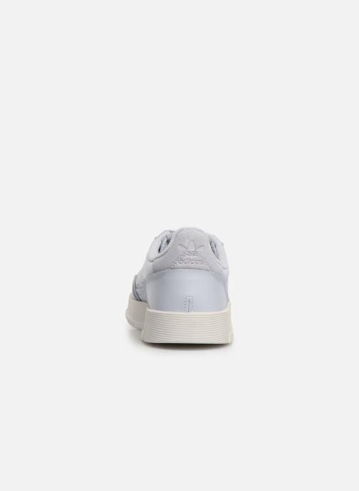 Sneakers adidas originals Supercourt J Blauw rechts