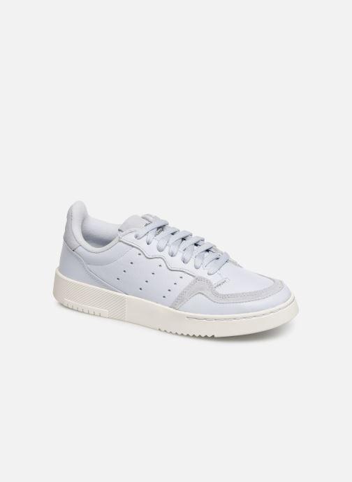 Sneakers adidas originals Supercourt J Blauw detail