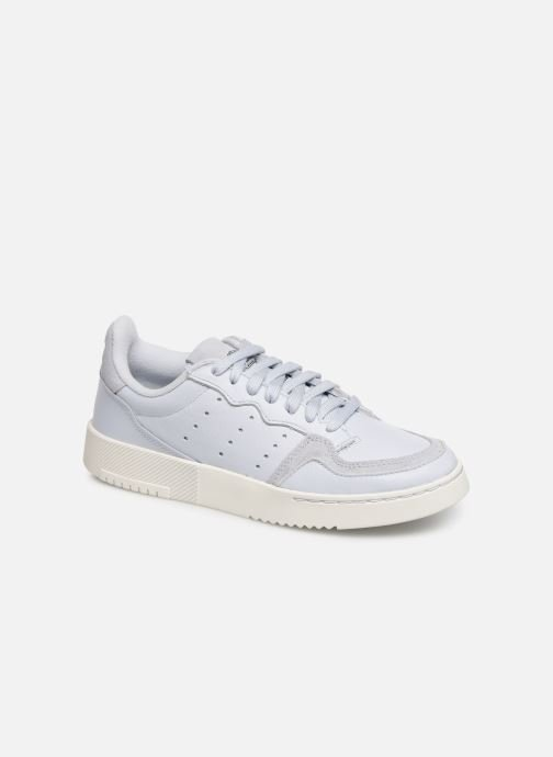 Baskets adidas originals Supercourt J Bleu vue détail/paire
