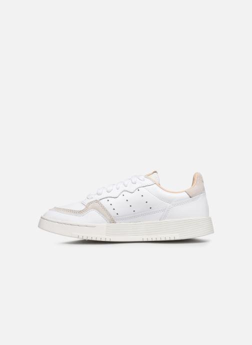 Sneakers adidas originals Supercourt J Wit voorkant