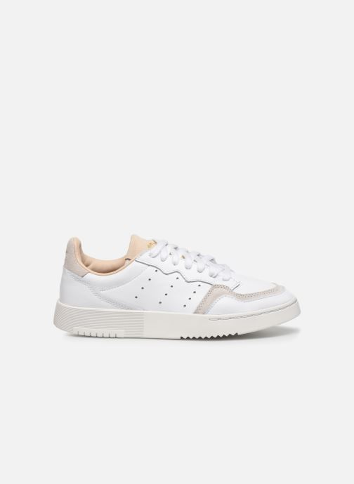Sneakers adidas originals Supercourt J Wit achterkant