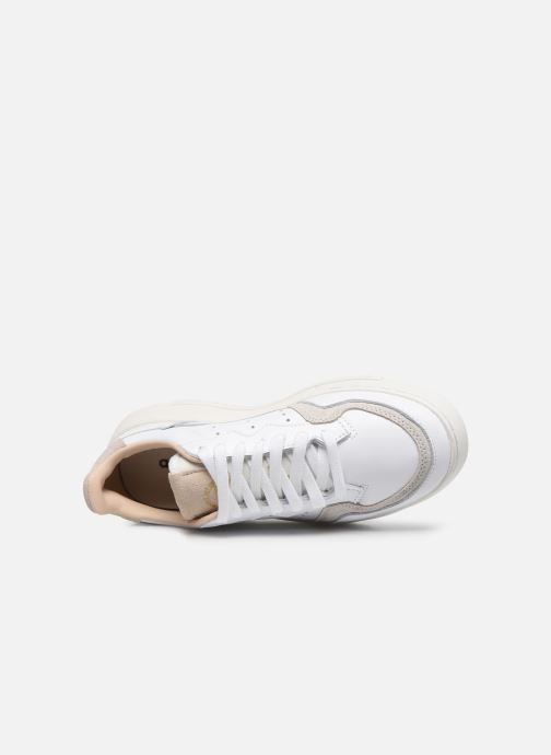 Baskets adidas originals Supercourt J Blanc vue gauche