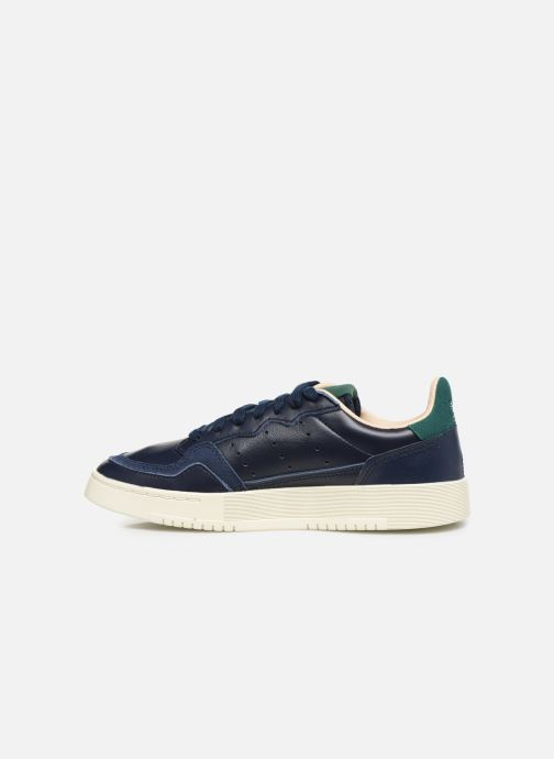 Sneakers adidas originals Supercourt J Azzurro immagine frontale
