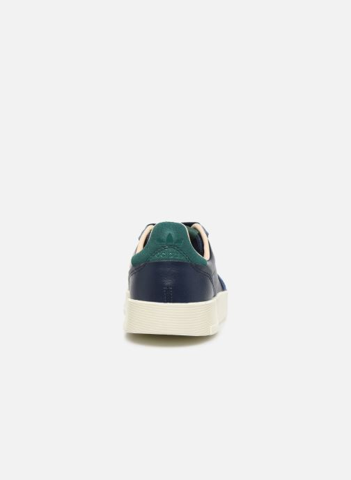 Trainers adidas originals Supercourt J Blue view from the right