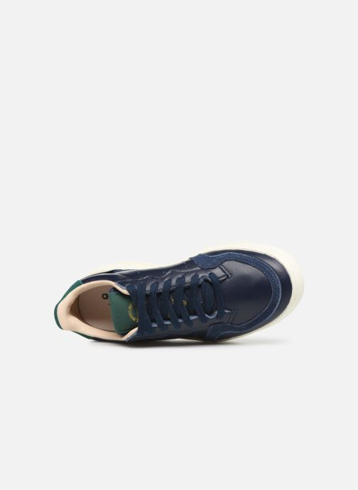 Trainers adidas originals Supercourt J Blue view from the left