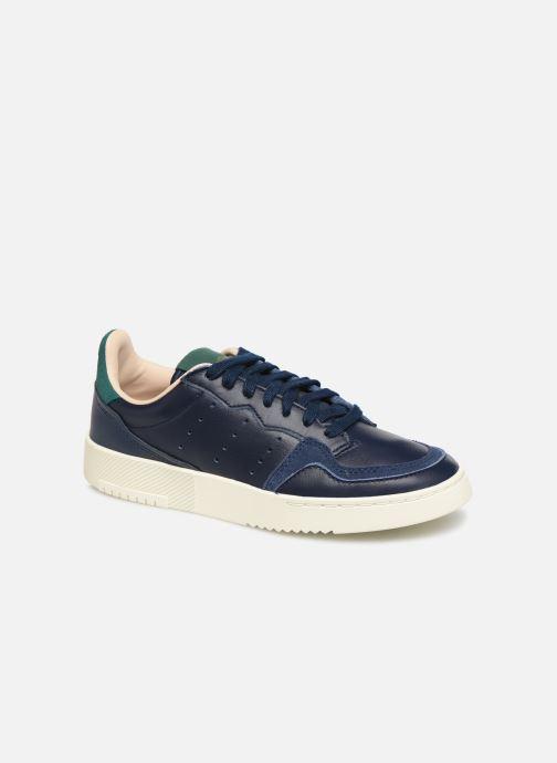 Baskets adidas originals Supercourt J Bleu vue détail/paire