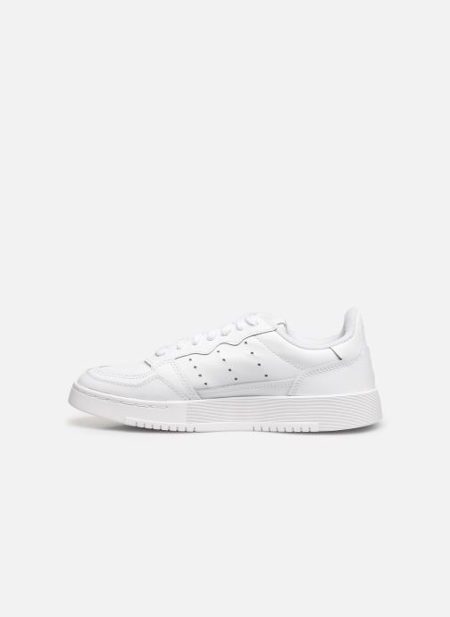 Sneakers adidas originals Supercourt J Bianco immagine frontale