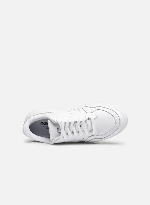 Sneakers adidas originals Supercourt J Bianco immagine sinistra