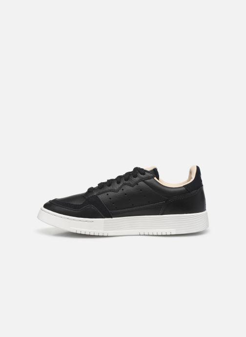 Sneakers adidas originals Supercourt J Nero immagine frontale