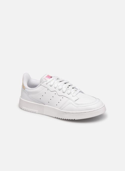 Sneakers adidas originals Supercourt J Wit detail