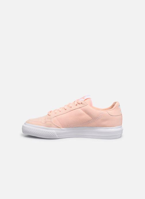 Sneakers adidas originals Continental Vulc J Rosa immagine frontale