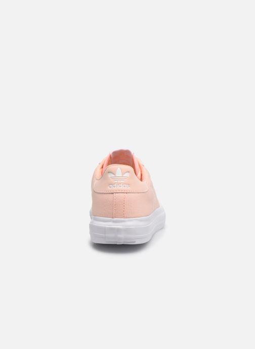 Sneakers adidas originals Continental Vulc J Rosa immagine destra