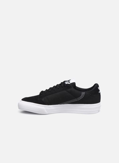 Sneakers adidas originals Continental Vulc J Nero immagine frontale