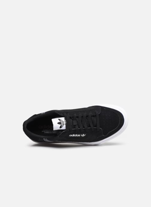 Sneakers adidas originals Continental Vulc J Nero immagine sinistra