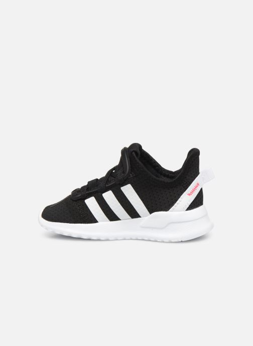 Sneakers adidas originals U_Path Run I Zwart voorkant