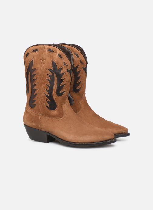 Bottines et boots Notabene Okinawa Marron vue 3/4