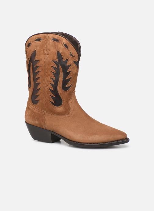 Boots en enkellaarsjes Notabene Okinawa Bruin detail