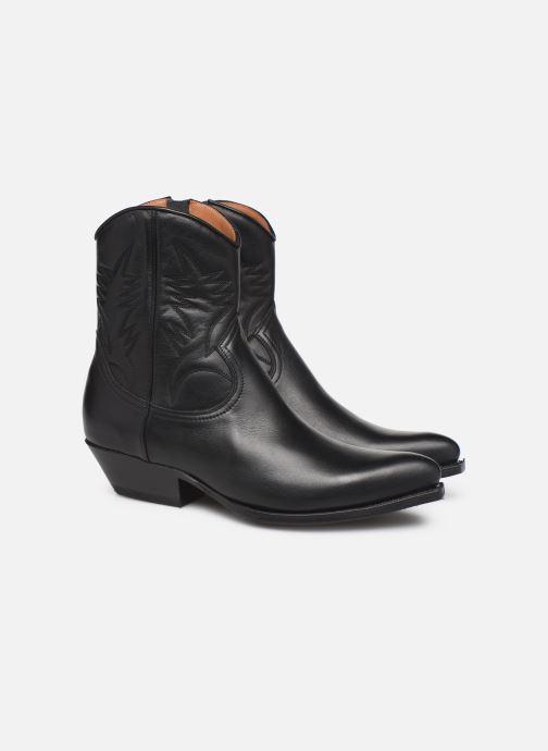 Bottines et boots Notabene Django Noir vue 3/4