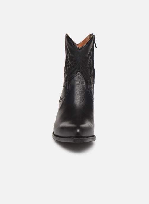 Botines  Notabene Django Negro vista del modelo