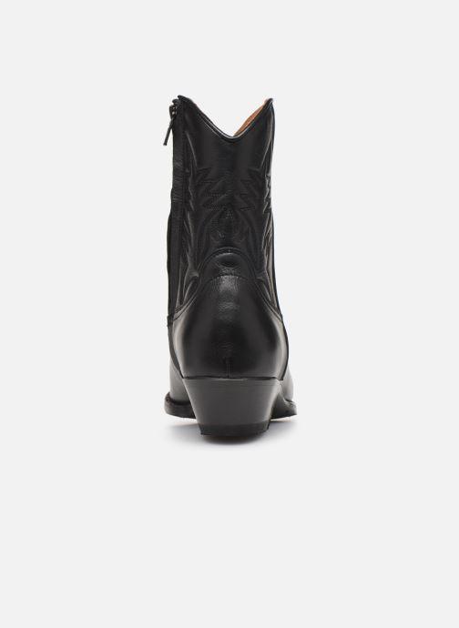 Bottines et boots Notabene Django Noir vue droite