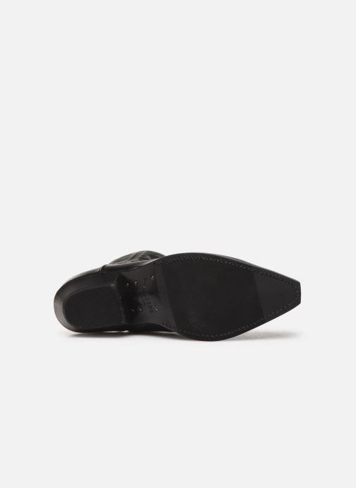 Bottines et boots Notabene Django Noir vue haut