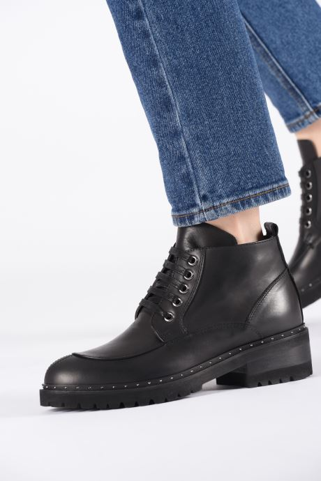 Stiefeletten & Boots Notabene Farrah schwarz ansicht von unten / tasche getragen