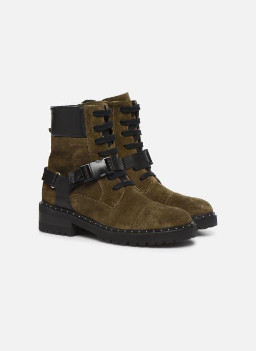 Bottines et boots Notabene Fawcett Vert vue 3/4