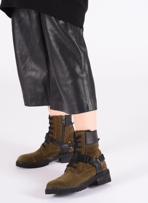 Bottines et boots Notabene Fawcett Vert vue bas / vue portée sac