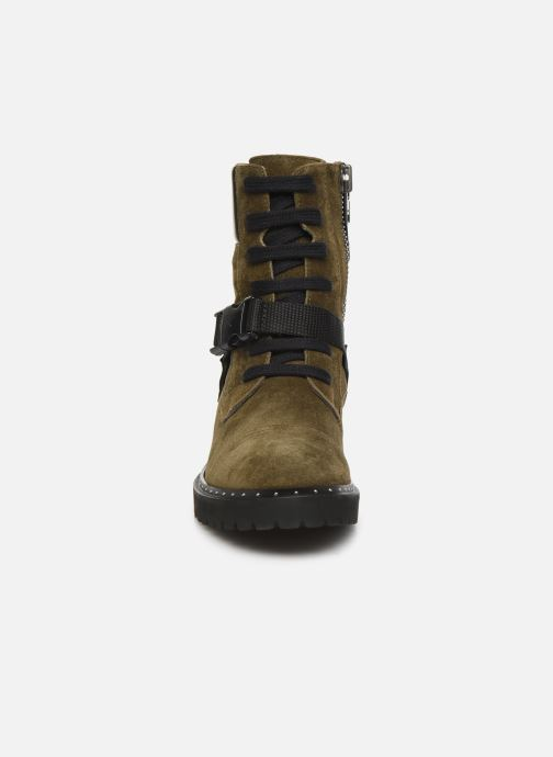 Bottines et boots Notabene Fawcett Vert vue portées chaussures