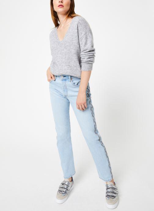 Vêtements Harris Wilson PULL SCOTT Gris vue bas / vue portée sac
