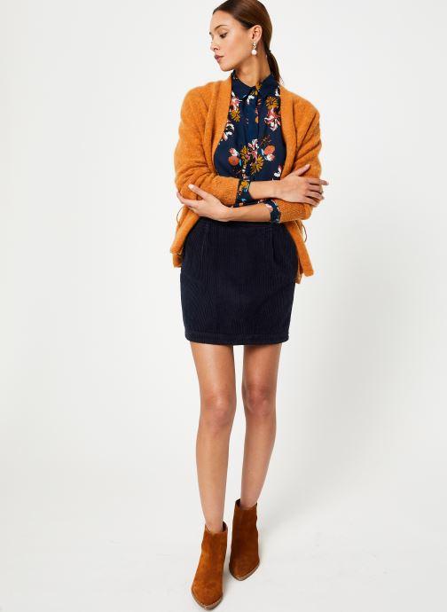 Vêtements Harris Wilson GILET SCOTTY Marron vue bas / vue portée sac