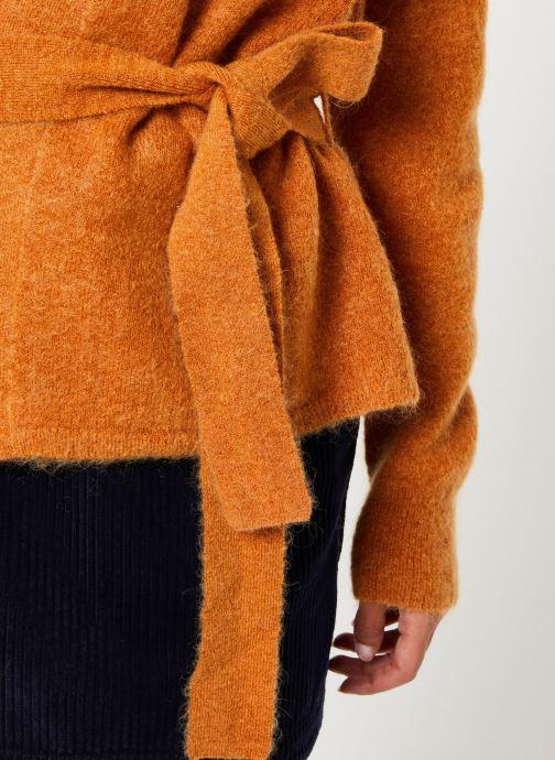 Vêtements Harris Wilson GILET SCOTTY Marron vue face