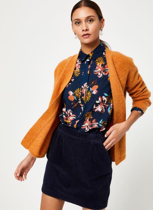 Vêtements Harris Wilson GILET SCOTTY Marron vue droite