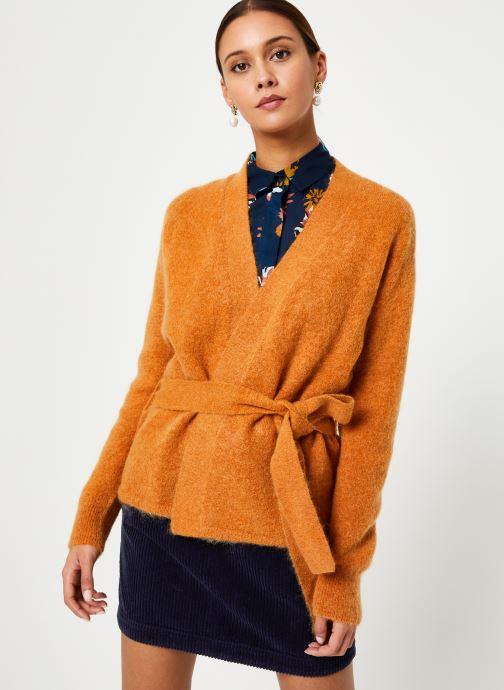 Vêtements Harris Wilson GILET SCOTTY Marron vue détail/paire