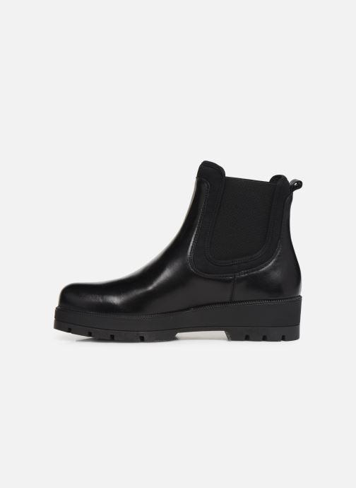 Bottines et boots Unisa FAEDO Noir vue face