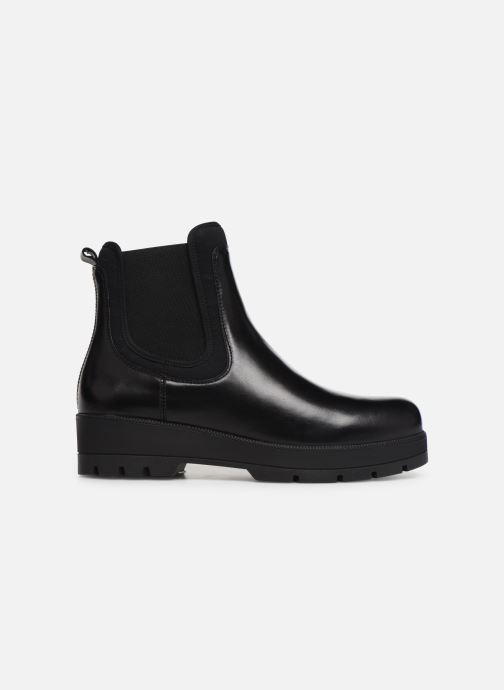 Bottines et boots Unisa FAEDO Noir vue derrière