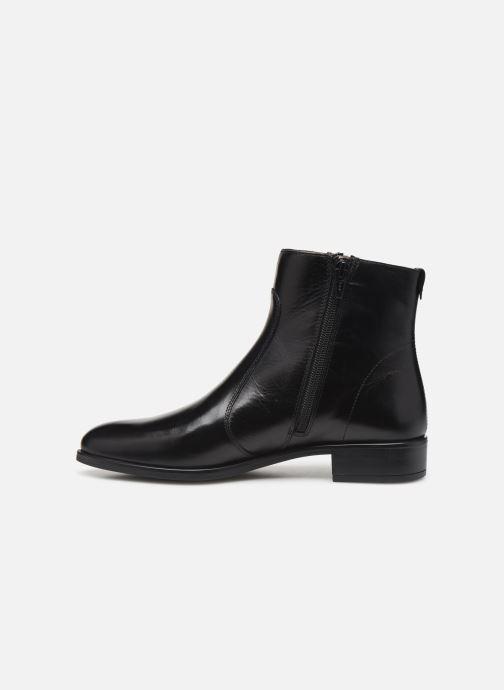 Boots en enkellaarsjes Unisa BRAS Zwart voorkant