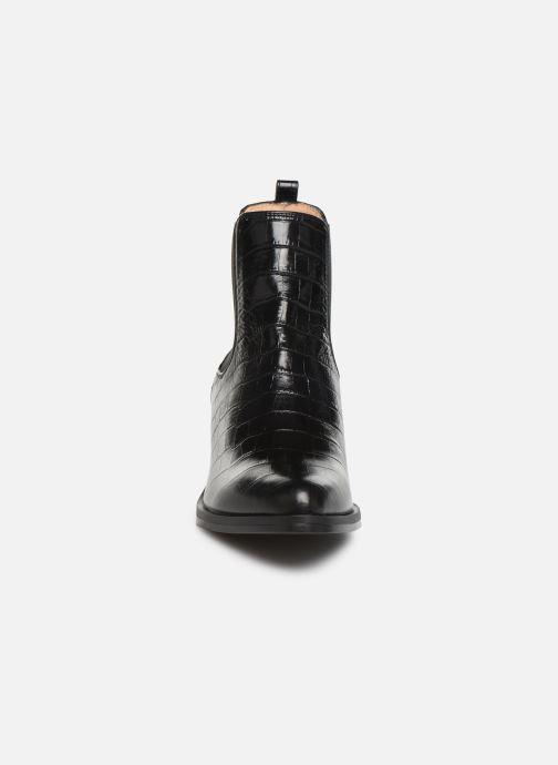 Bottines et boots Unisa GREYSON Noir vue portées chaussures