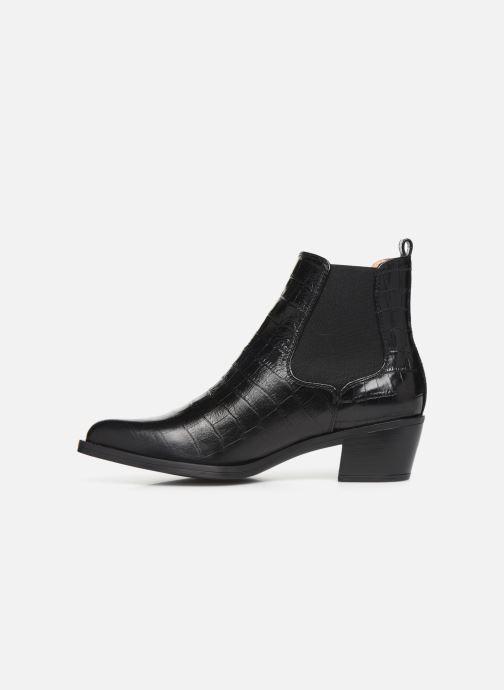 Bottines et boots Unisa GREYSON Noir vue face