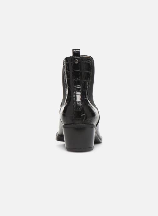 Bottines et boots Unisa GREYSON Noir vue droite