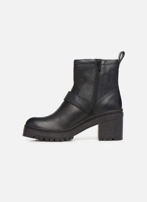 Boots en enkellaarsjes Unisa JEZABEL-HA Zwart voorkant