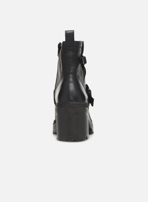 Boots en enkellaarsjes Unisa JEZABEL-HA Zwart rechts