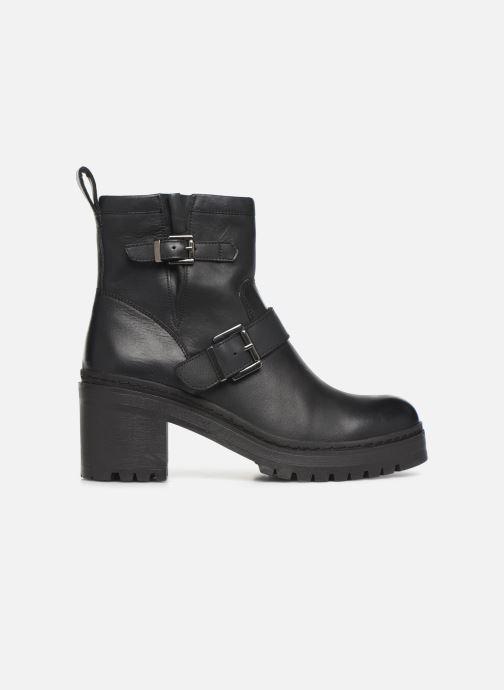 Boots en enkellaarsjes Unisa JEZABEL-HA Zwart achterkant